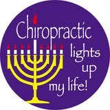 Chiropractic Hanukka Sticker