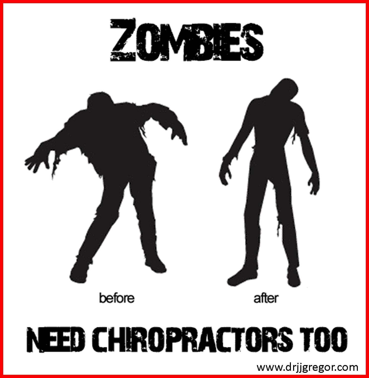 Halloween Chiropractic Zombie